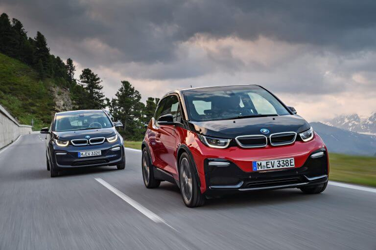 Top electric cars in 2018