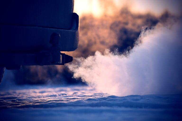 Warming up engine is potentially damaging and redundant